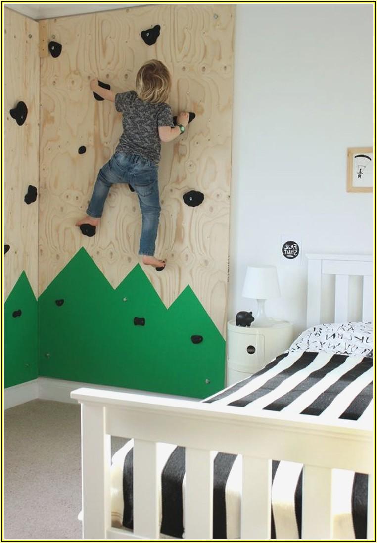 Kletterwand Mit Rutsche Kinderzimmer