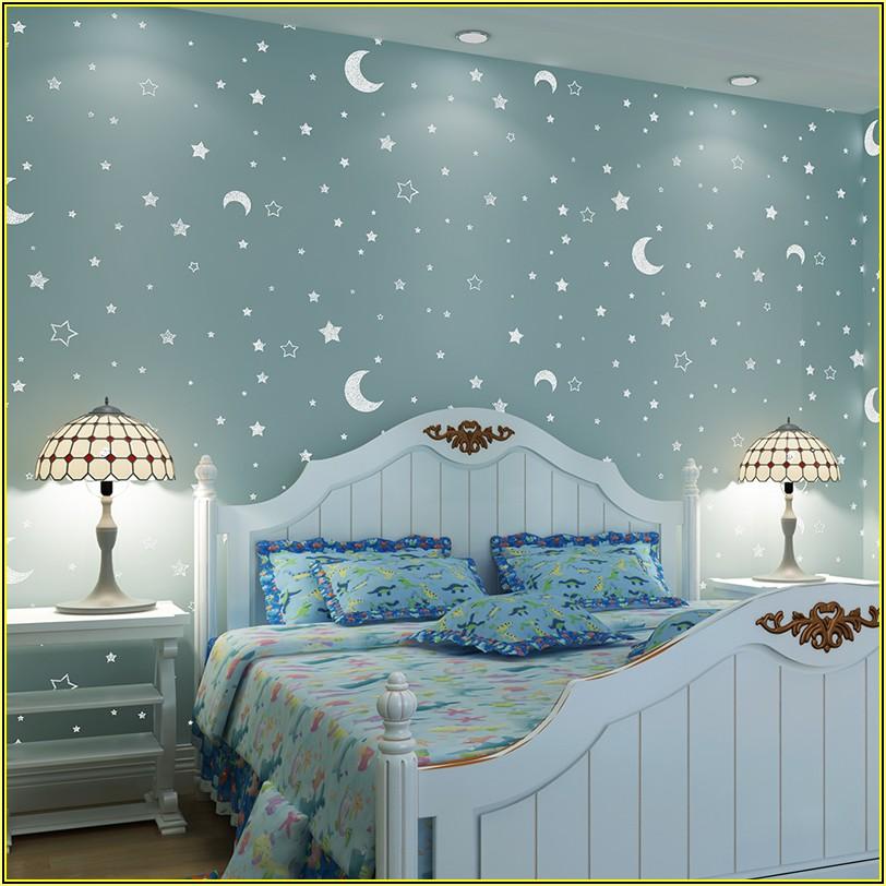 Leuchtende Sterne Kinderzimmer