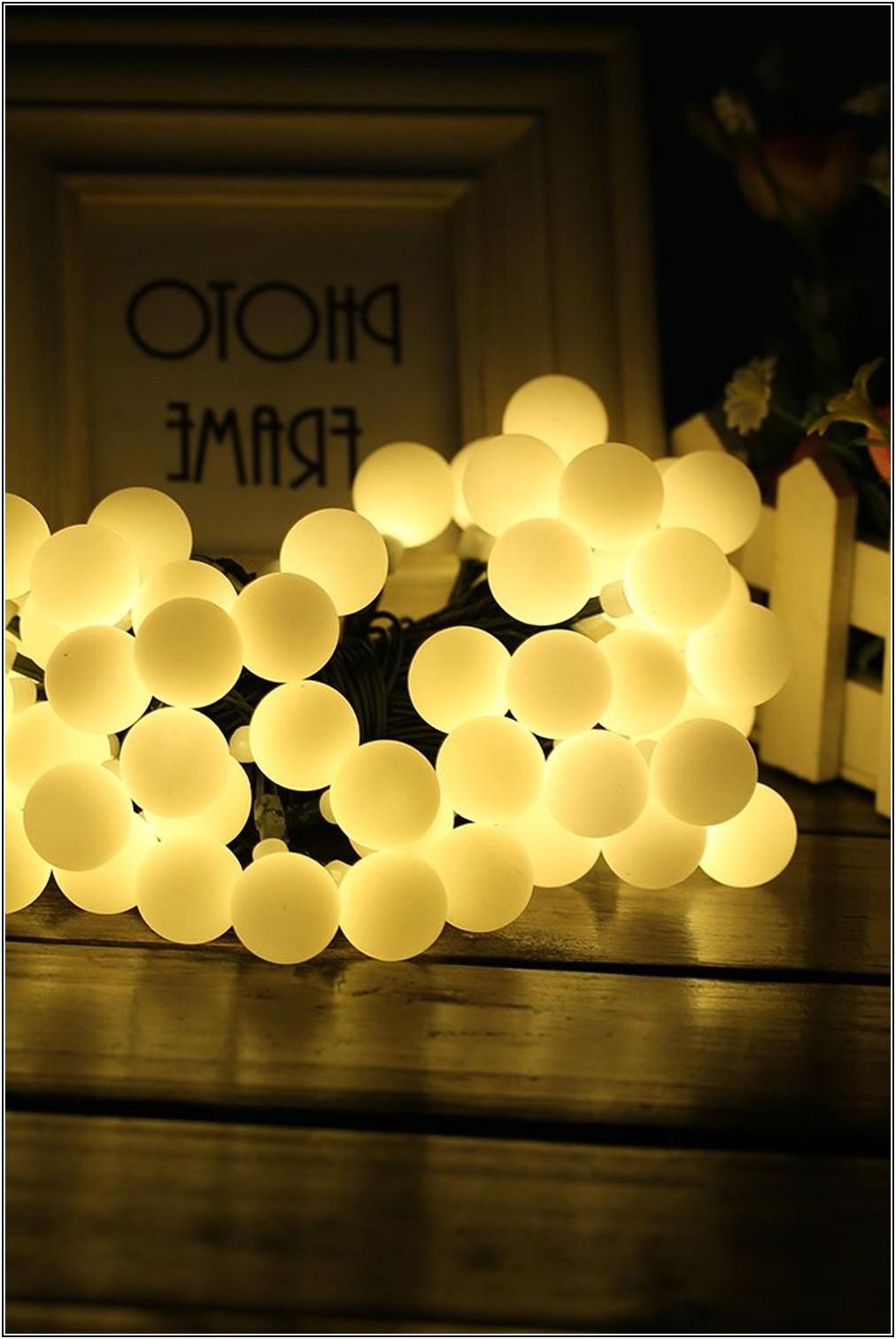 Lichterkette Deko Wohnzimmer