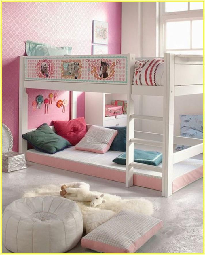 Mädchen Kinderzimmer Mit Hochbett