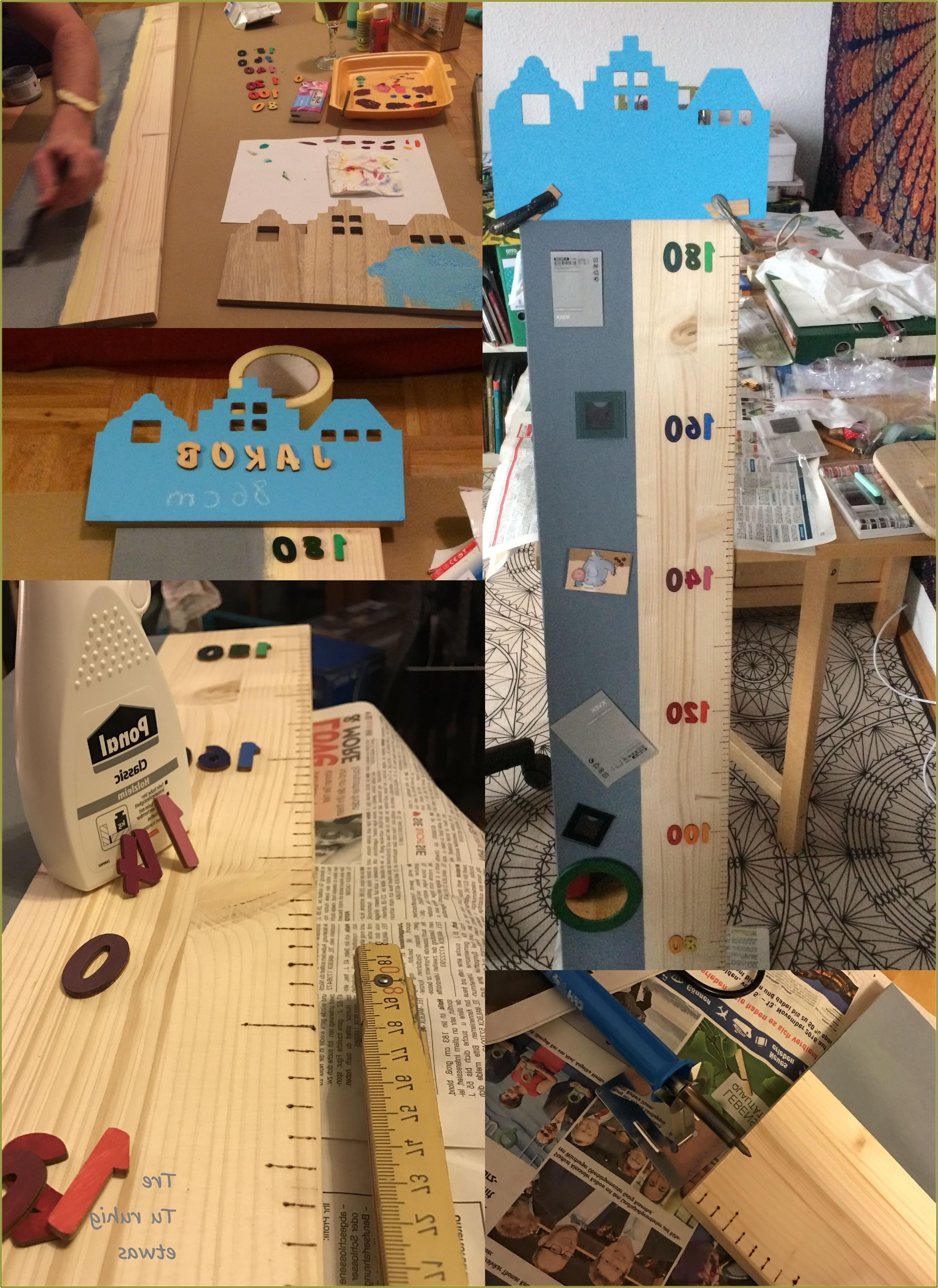 Messlatte Kinderzimmer Holz Selber Machen