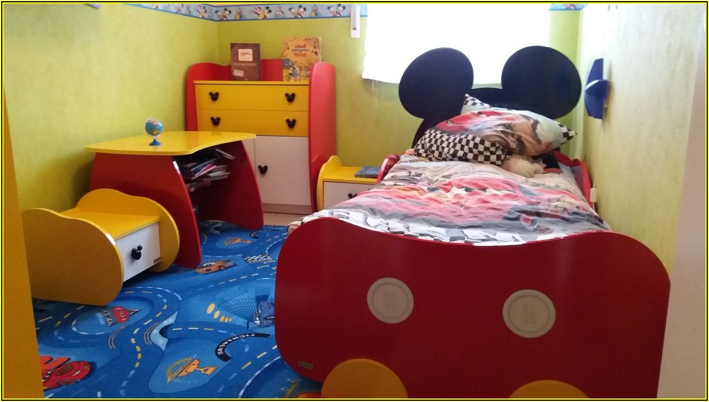 Micky Maus Kinderzimmer Komplett