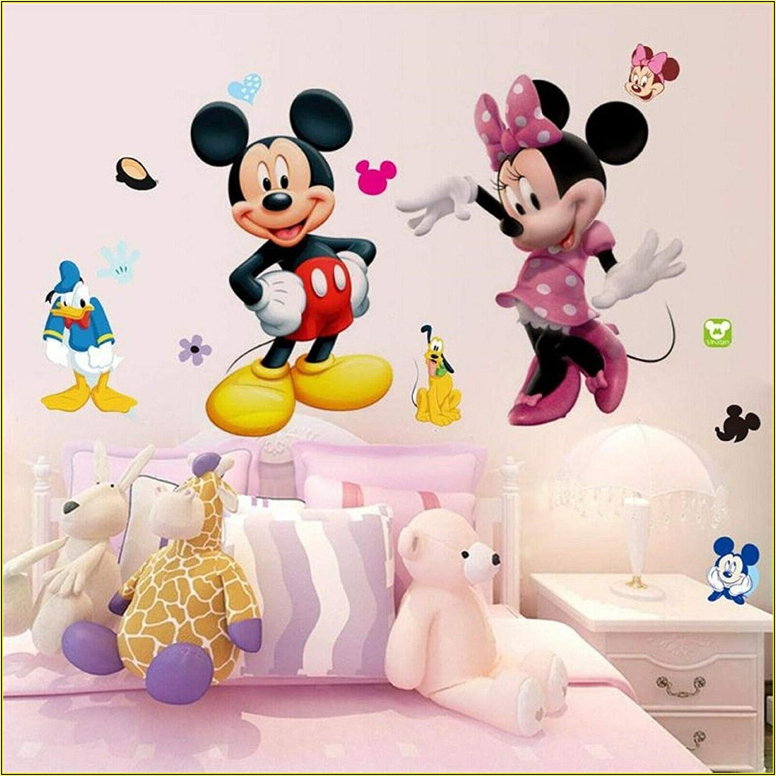 Minnie Mouse Deko Kinderzimmer