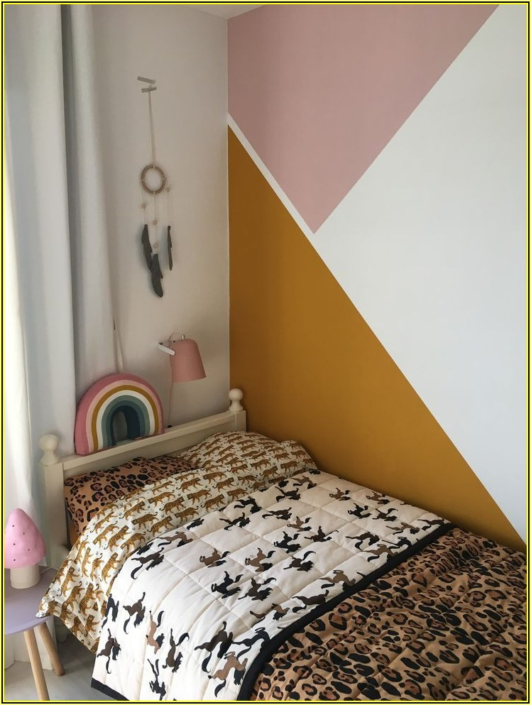 Muster Kinderzimmer Wand