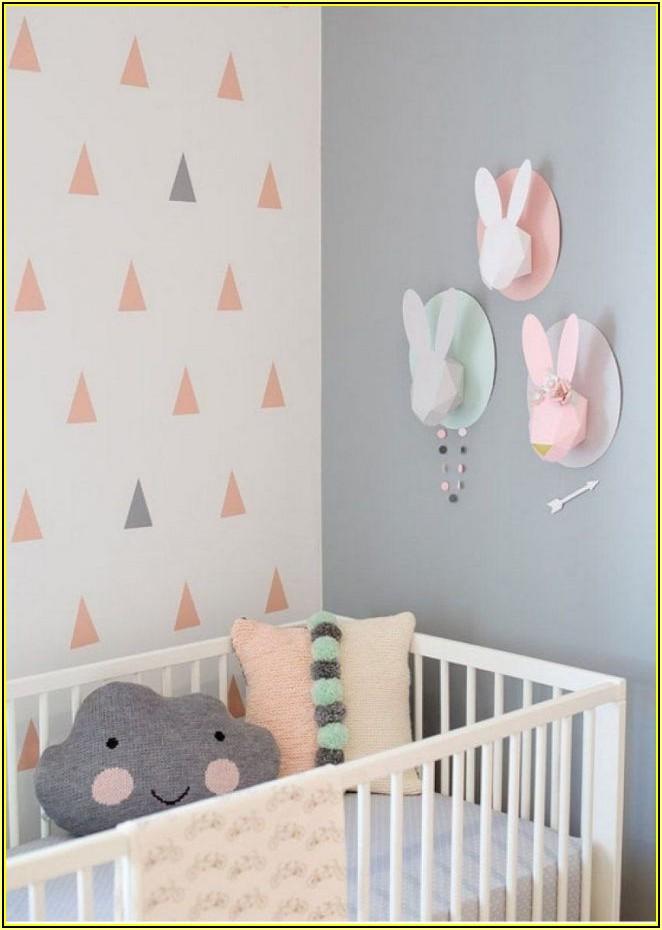 Muster Wände Streichen Kinderzimmer