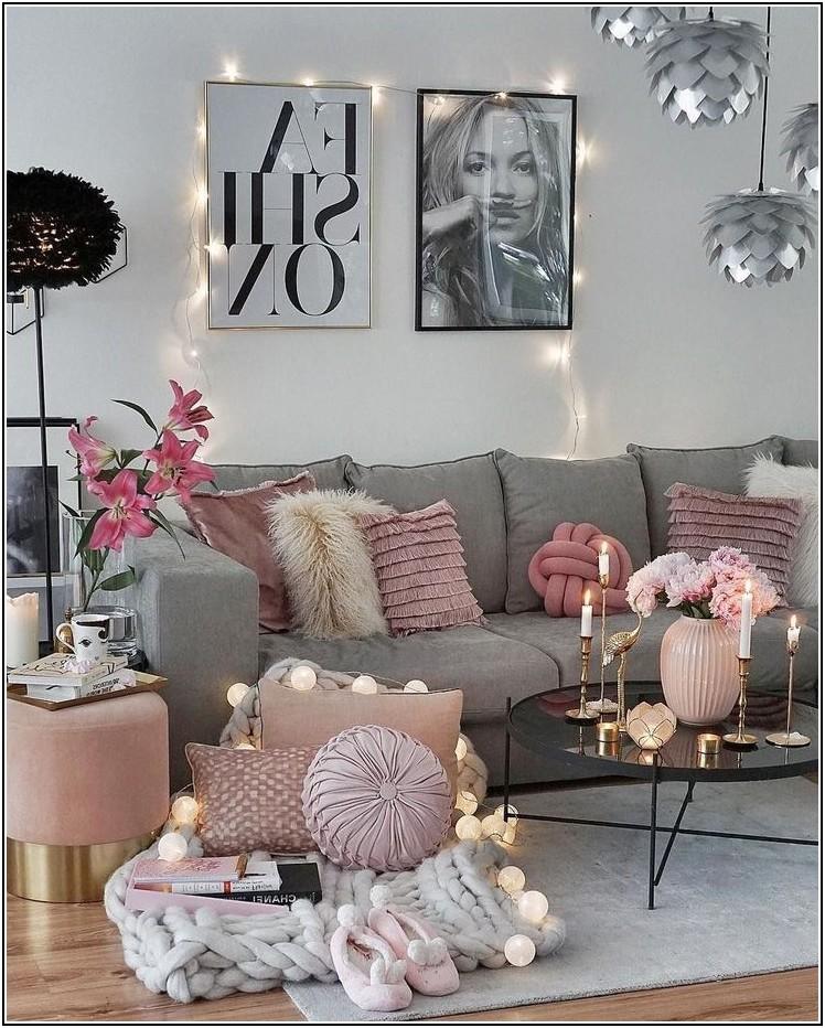 Romantische Dekoration Wohnzimmer