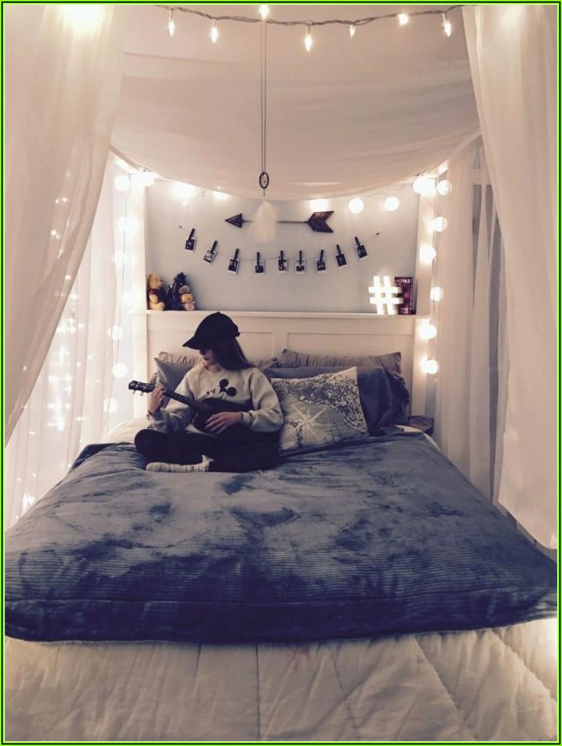 Romantische Schlafzimmer Deko