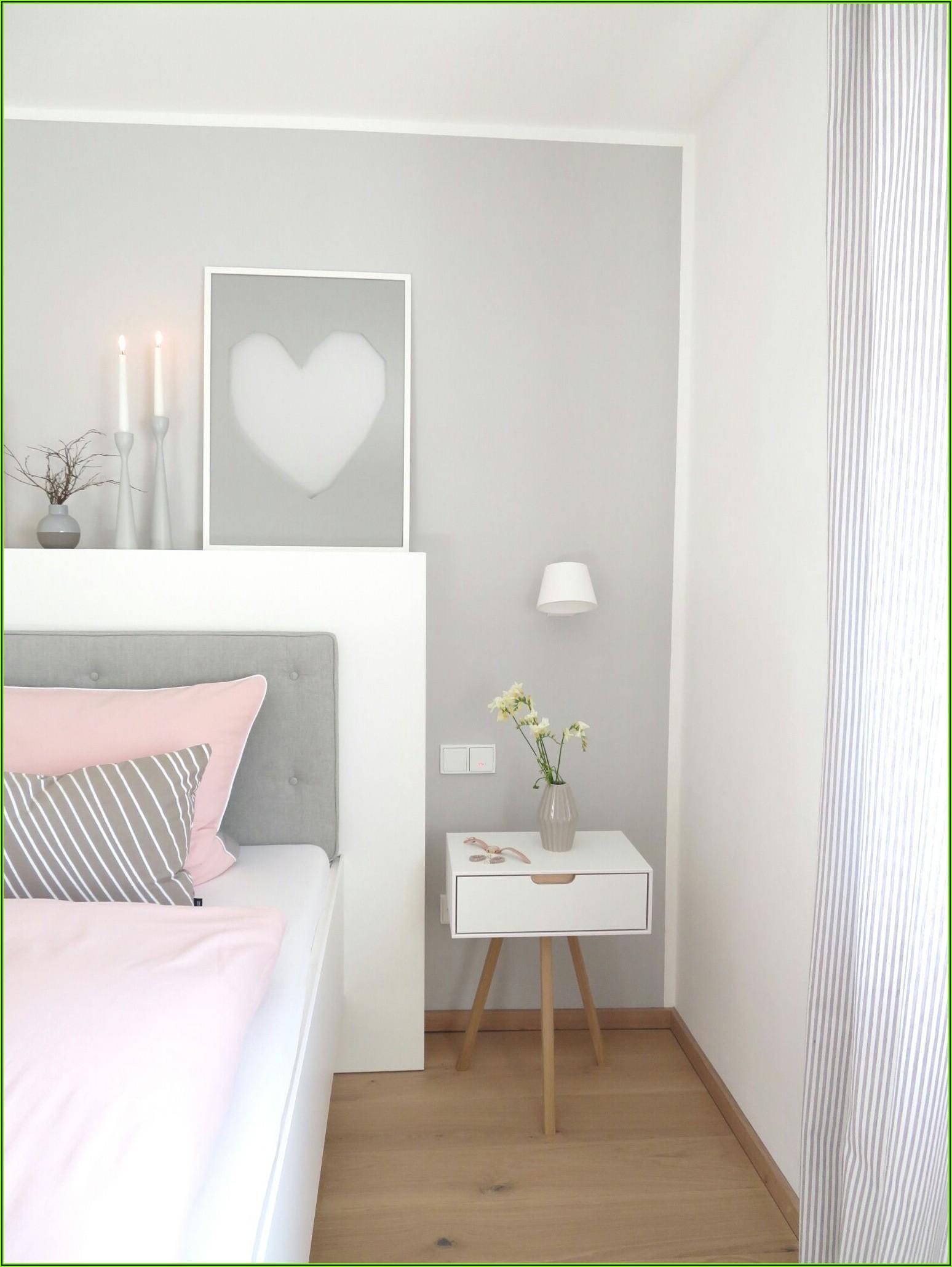 Rosa Dekoration Schlafzimmer