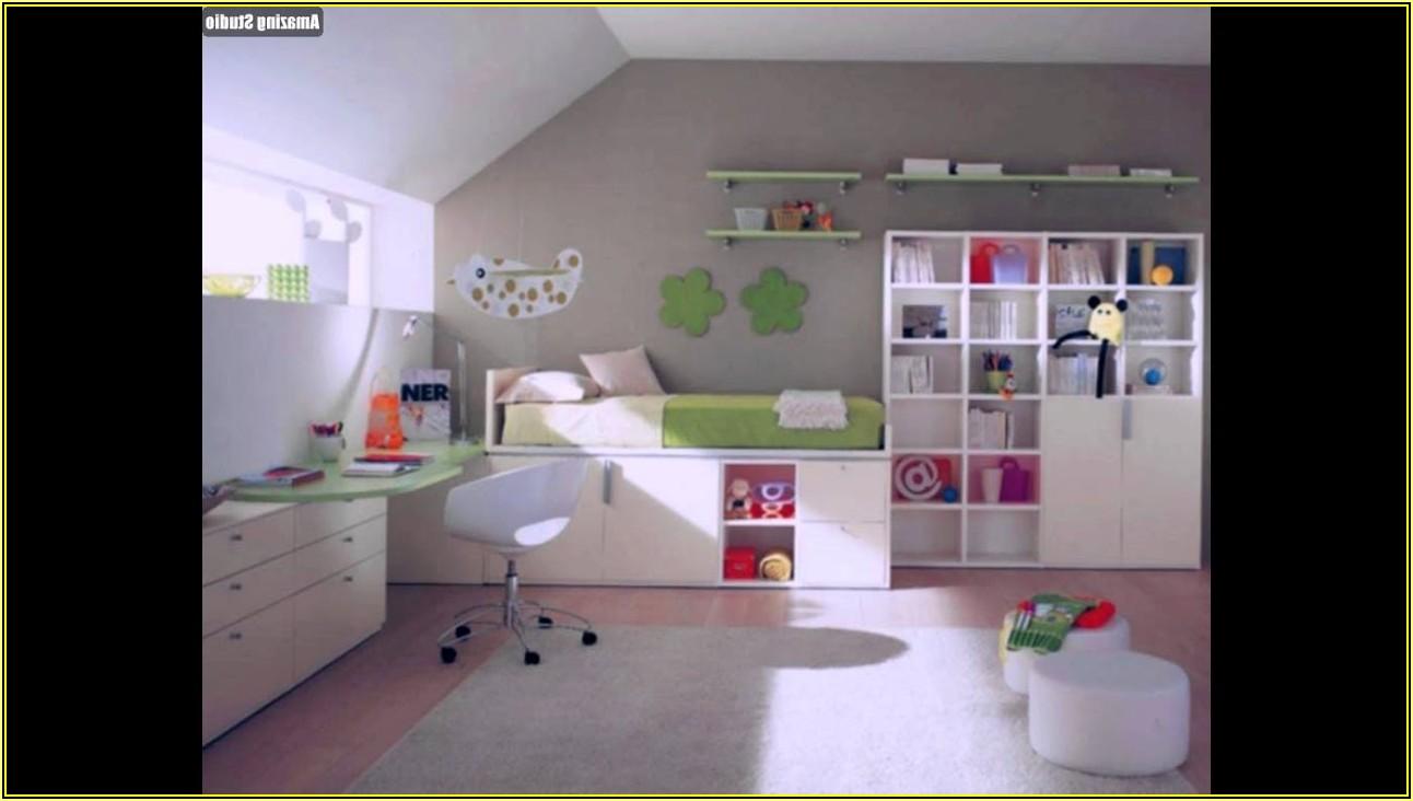 Schöner Wohnen Kinderzimmer Dachschräge