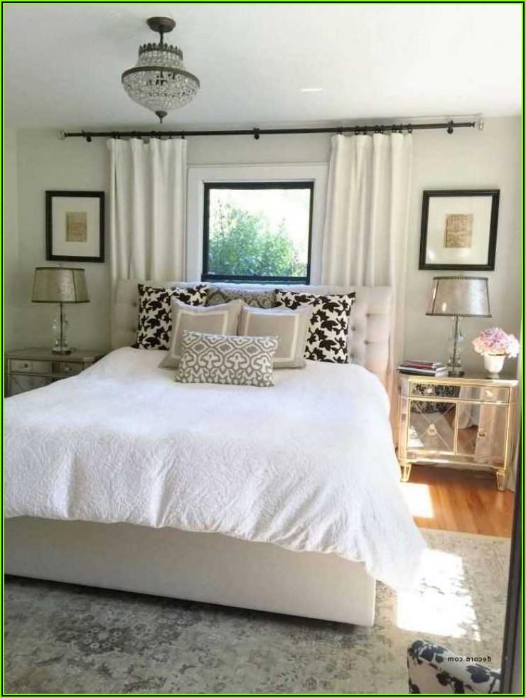 Schlafzimmer Bett Deko