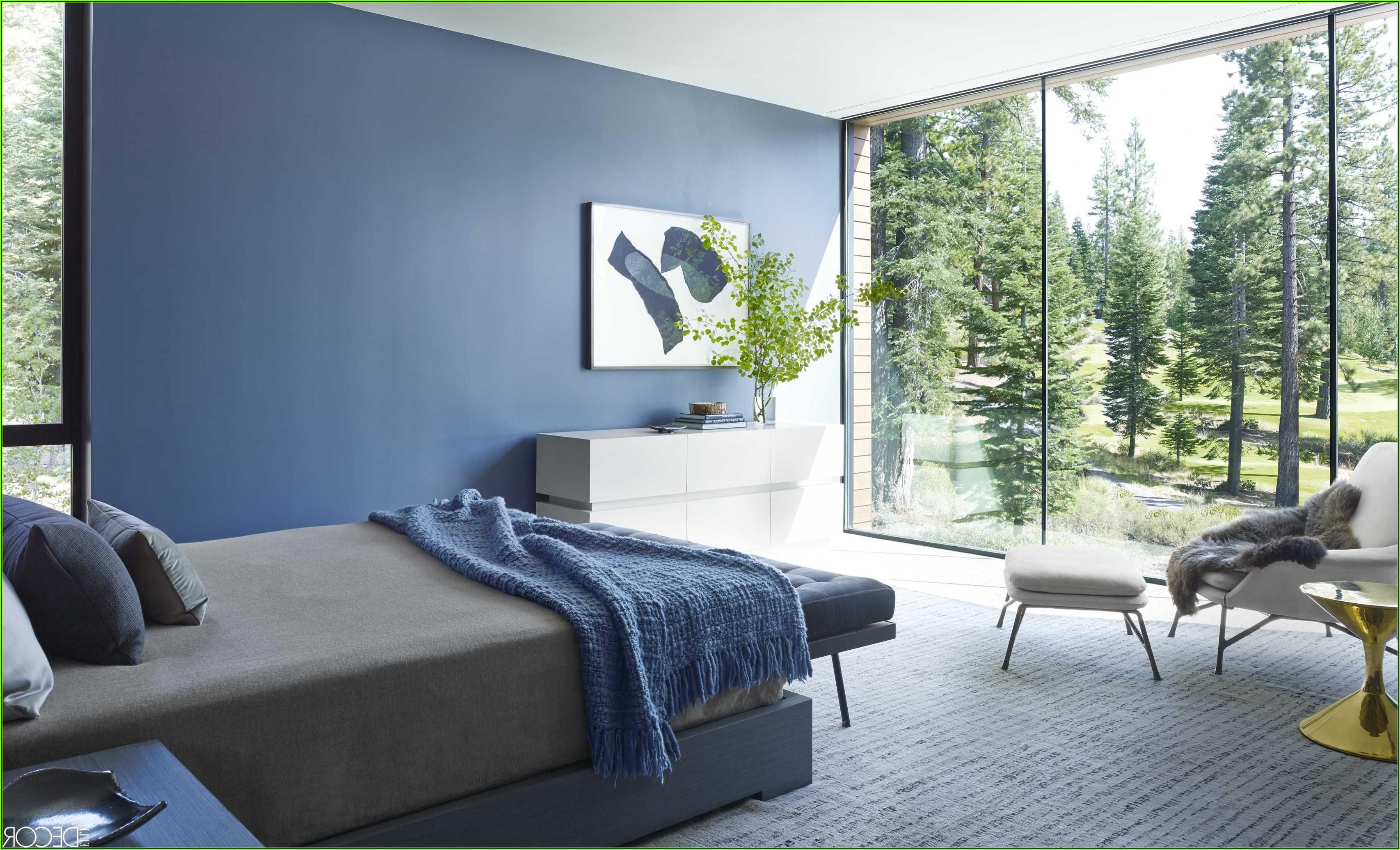 Schlafzimmer Blau Dekorieren