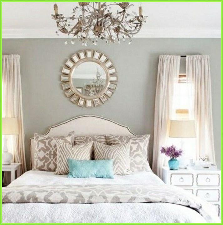 Schlafzimmer Deko Bett