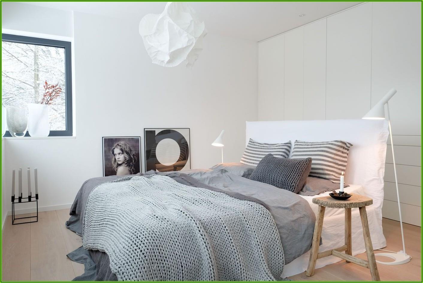 Schlafzimmer Deko Grau