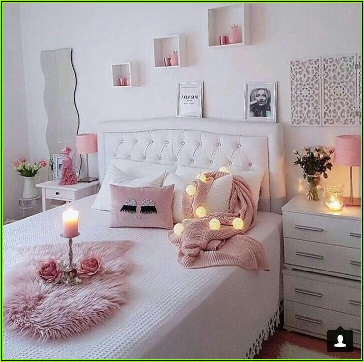 Schlafzimmer Deko Rosa