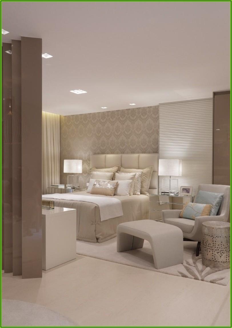 Schlafzimmer Deko Silber