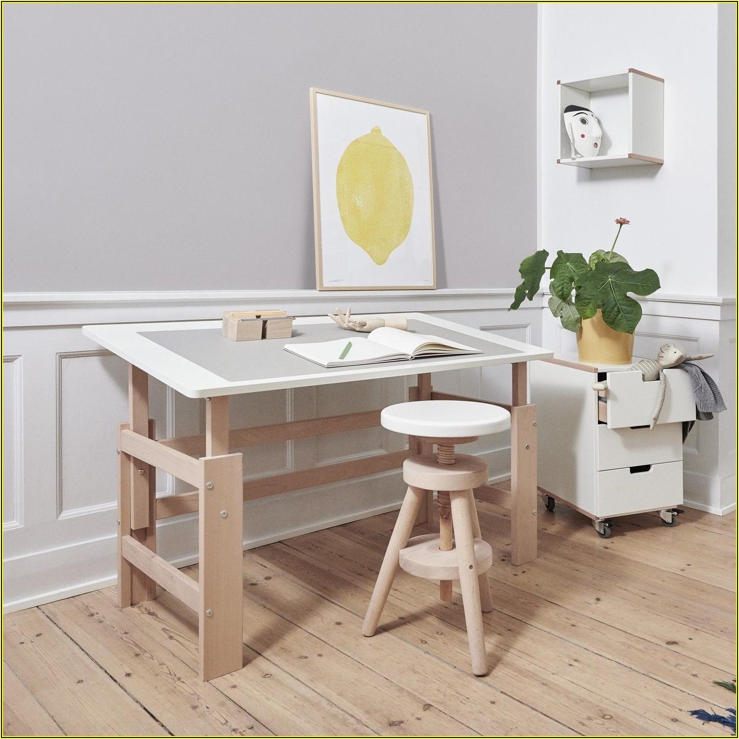 Schreibtisch Höhenverstellbar Kinder Selber Bauen