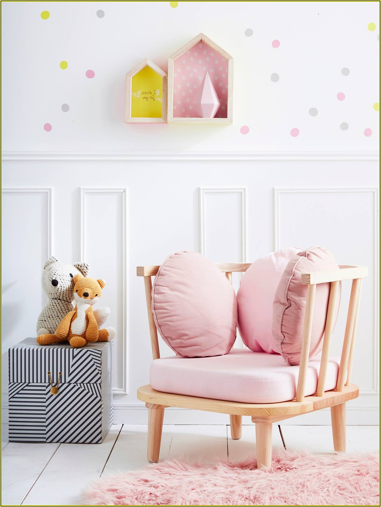 Sessel Kinderzimmer Rosa