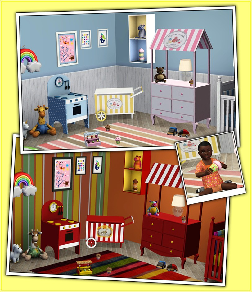 Sims 3 Kinderzimmer Download