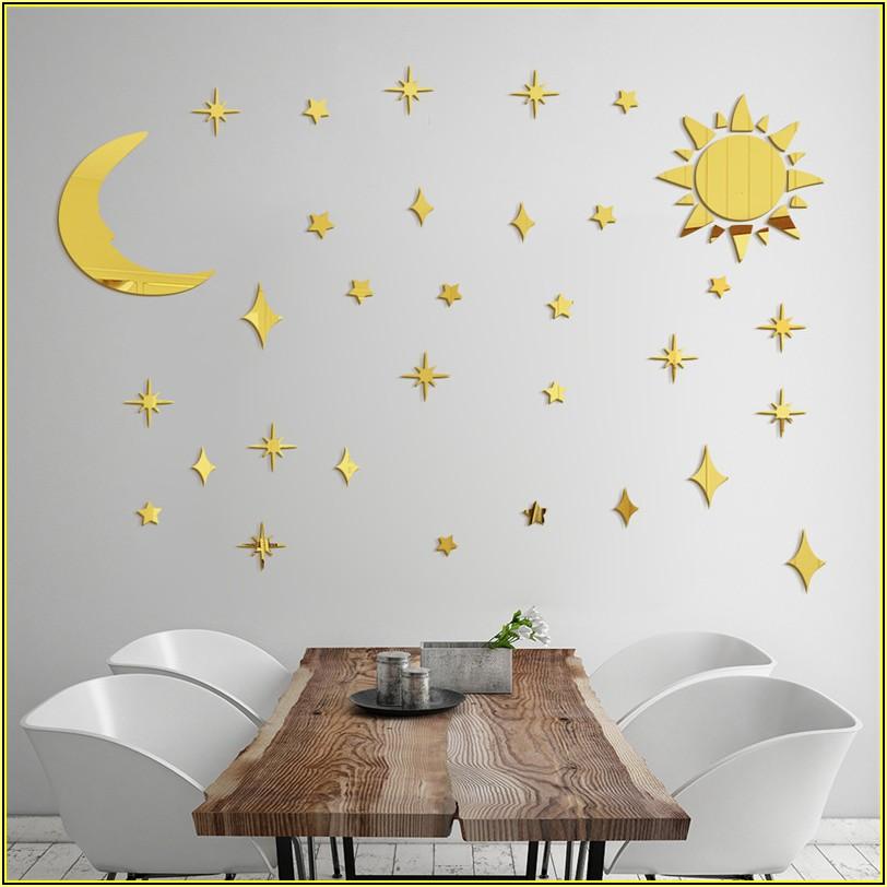 Sonne Mond Sterne Kinderzimmer