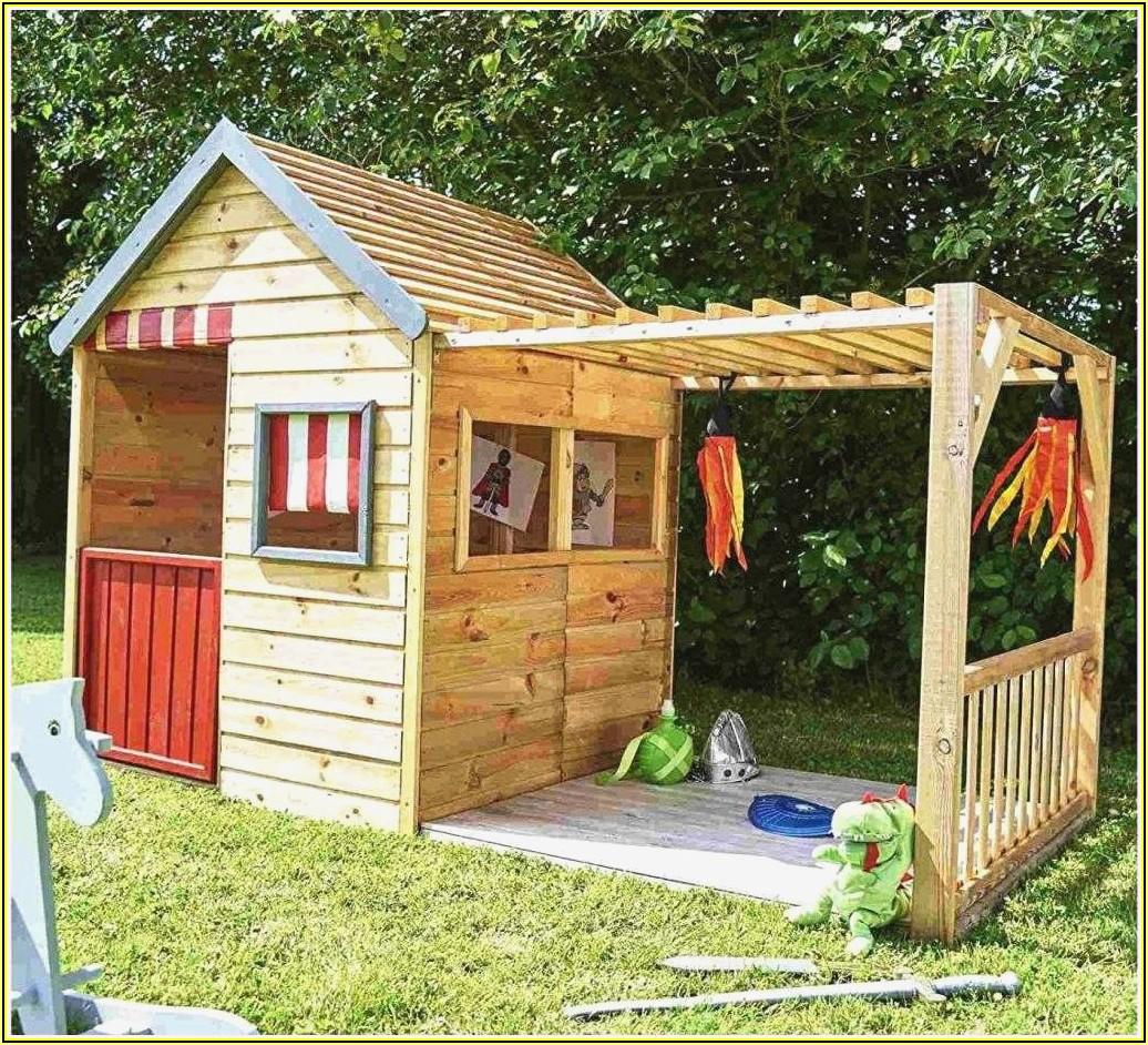 Spielhaus Mit Rutsche Kinderzimmer