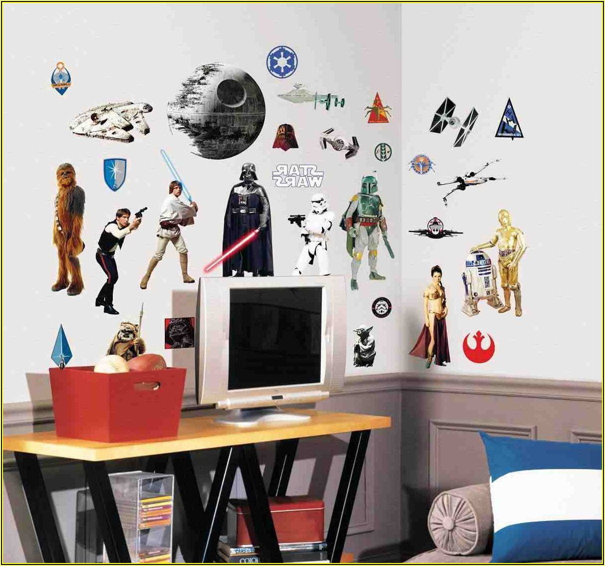 Star Wars Kinderzimmer Gestalten