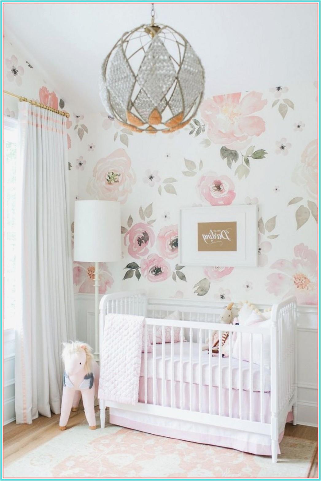 Tapeten Kinderzimmer Baby Mädchen