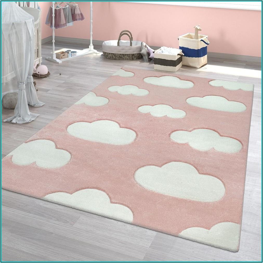 Teppich Kinderzimmer Mädchen Beige