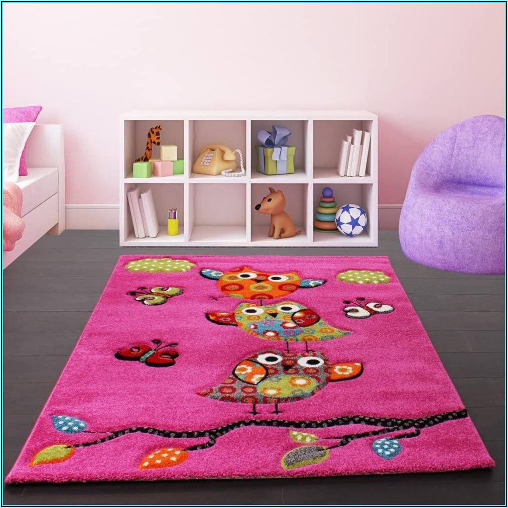 Teppich Kinderzimmer Mädchen Pink