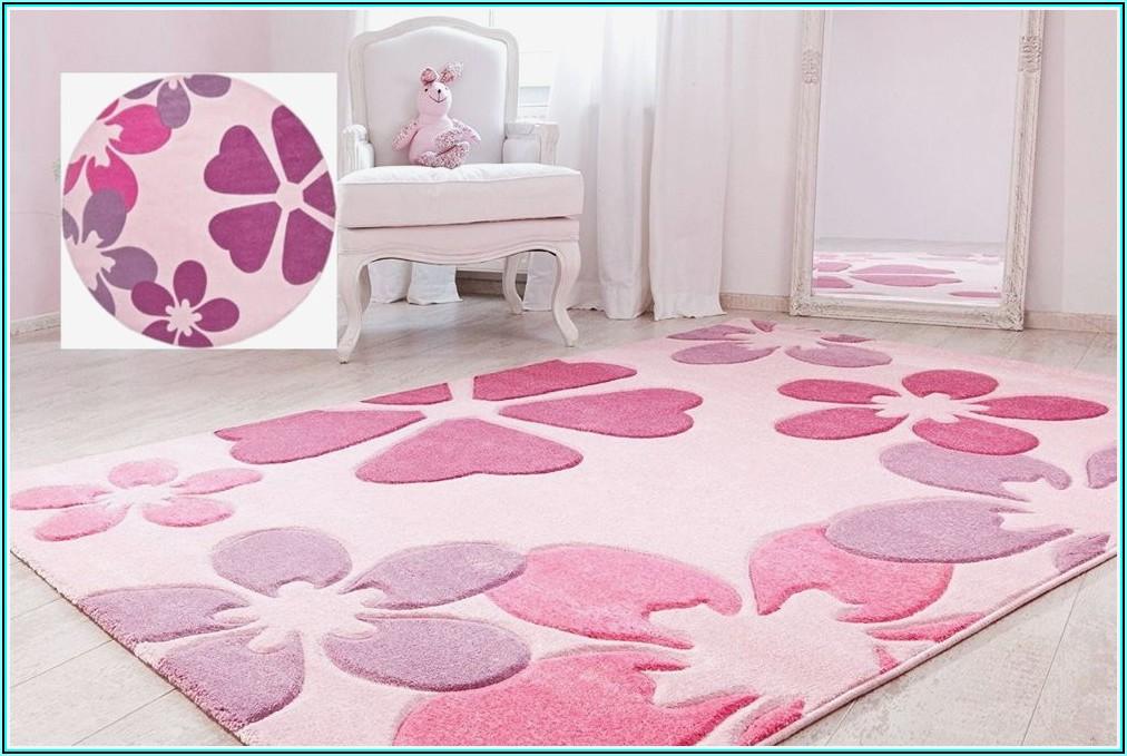 Teppich Kinderzimmer Mädchen Rund