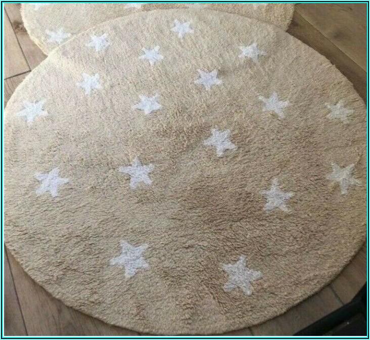 Teppich Rund Beige Kinderzimmer