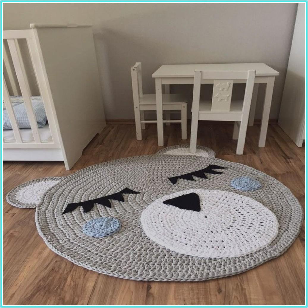 Teppich Rund Für Kinderzimmer