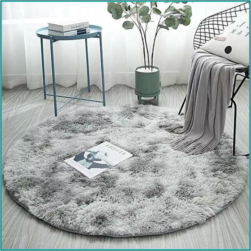 Teppich Rund Kinderzimmer Grau