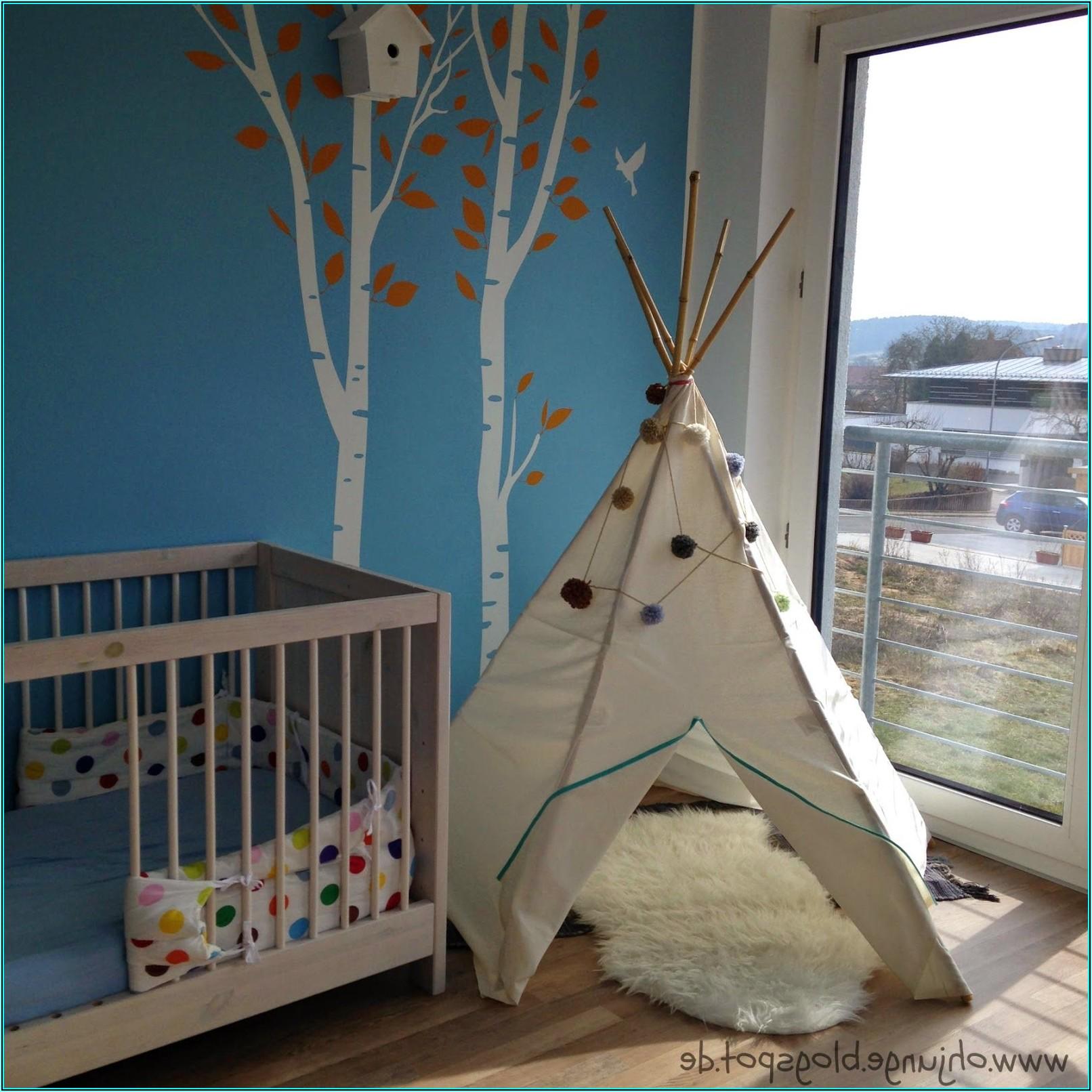 Tipi Zelt Kinderzimmer Junge