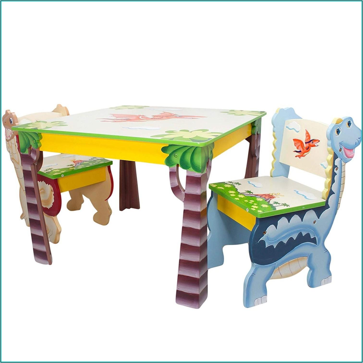 Tisch Mit Stühlen Kinderzimmer