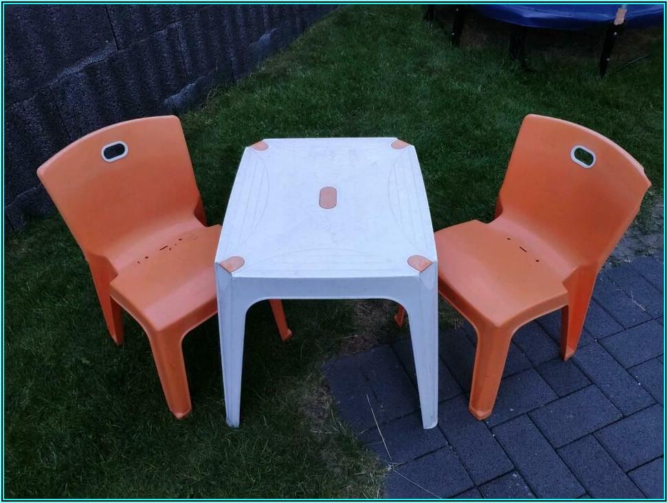 Tisch Und Stühle Für Kinder Garten