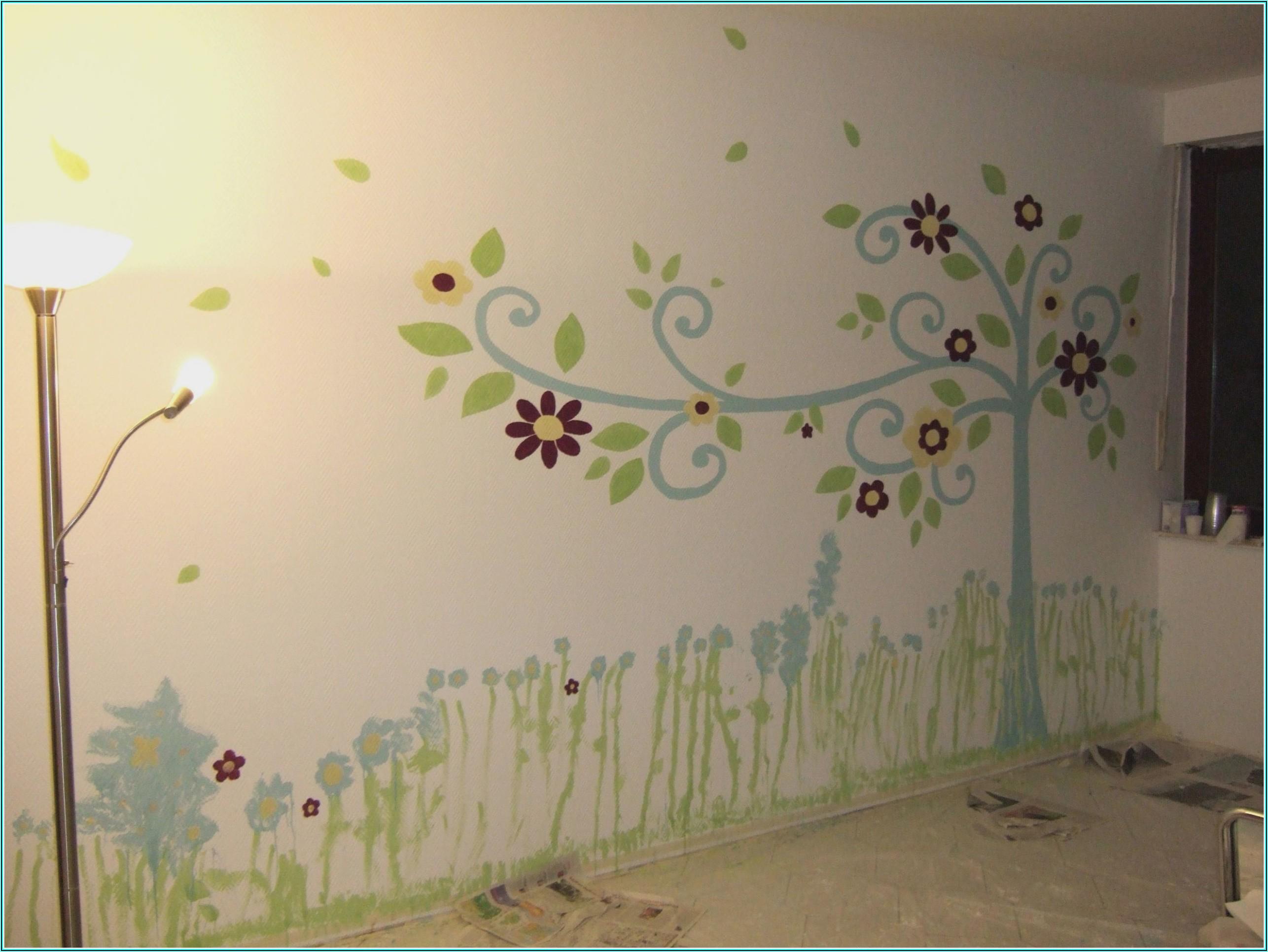 Wandbilder Selber Malen Kinderzimmer
