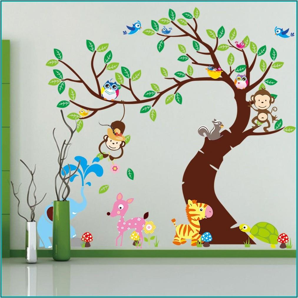 Wandsticker Baum Kinderzimmer