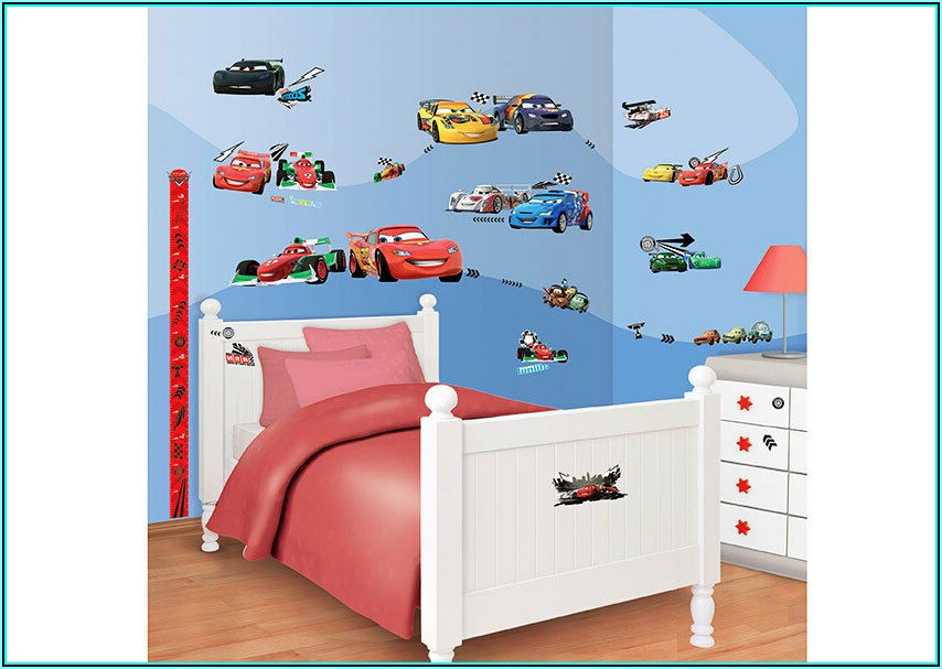 Wandtattoo Kinderzimmer Disney Cars