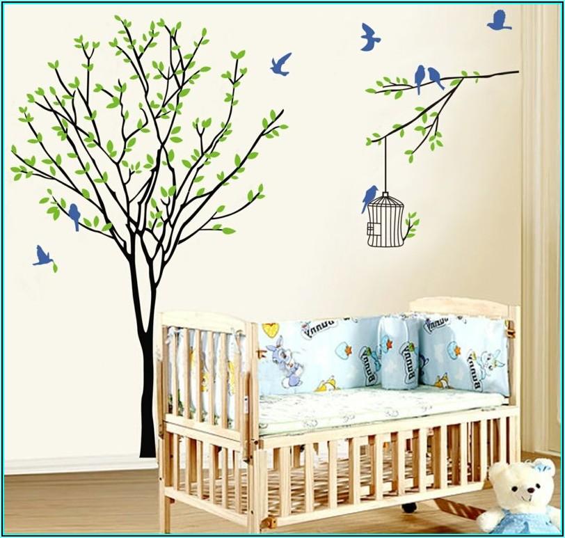 Wandtattoo Kinderzimmer Junge Baum