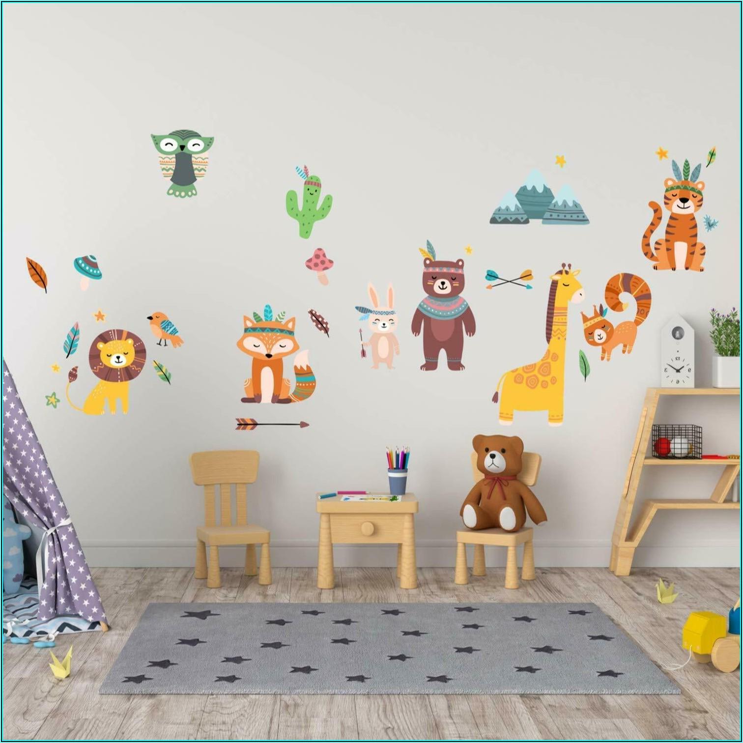 Wandtattoo Kinderzimmer Tiere Kaufen