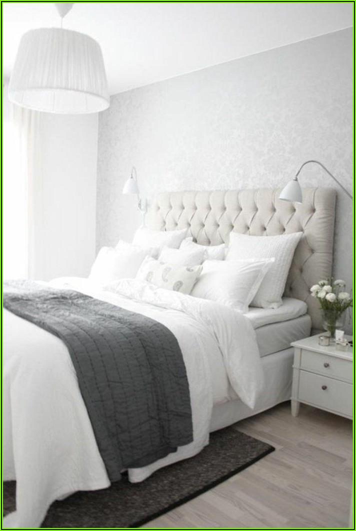 Weiße Schlafzimmer Deko