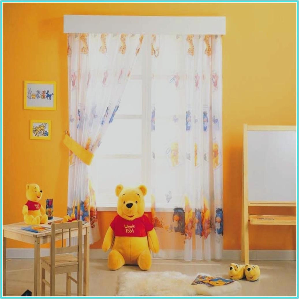 Winni Pooh Gardinen Kinderzimmer
