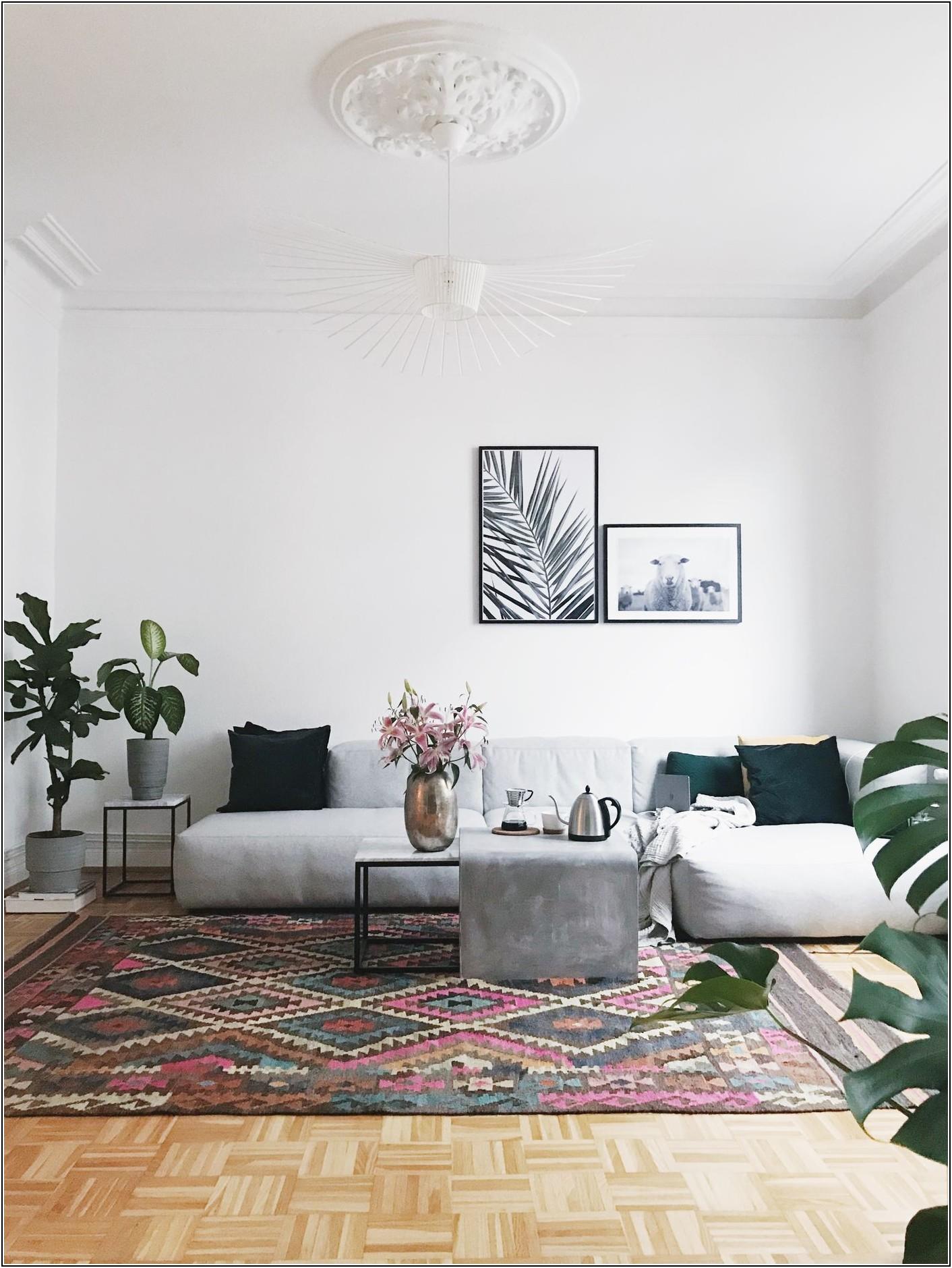 Wohnzimmer Couch Deko