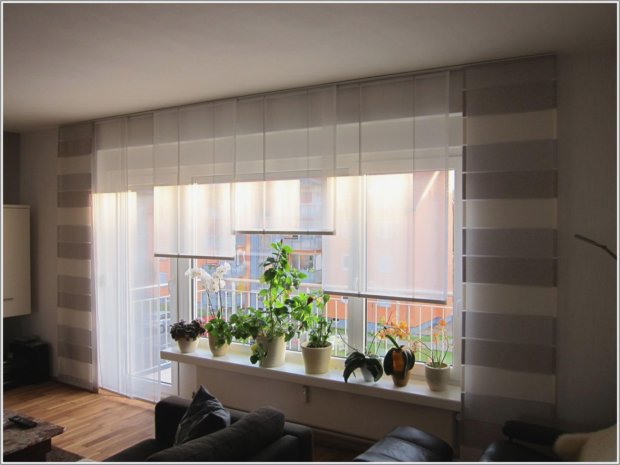Wohnzimmer Fenster Dekorieren Ohne Gardinen