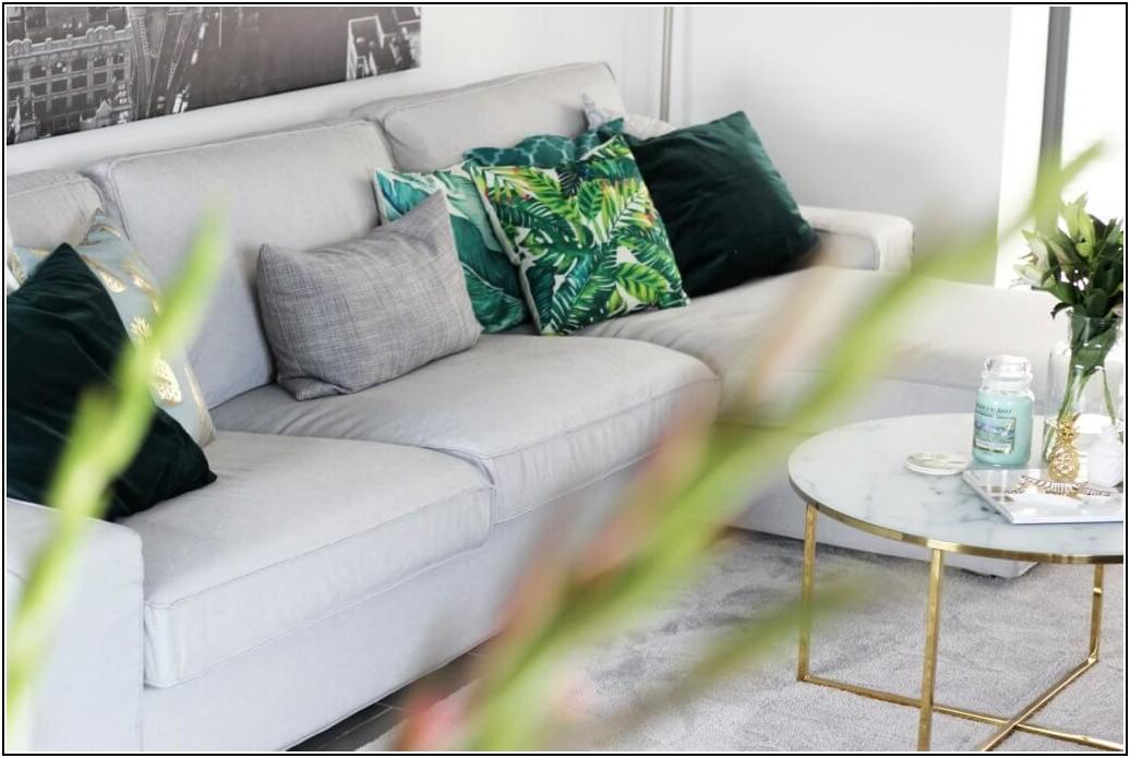 Wohnzimmer Grün Deko