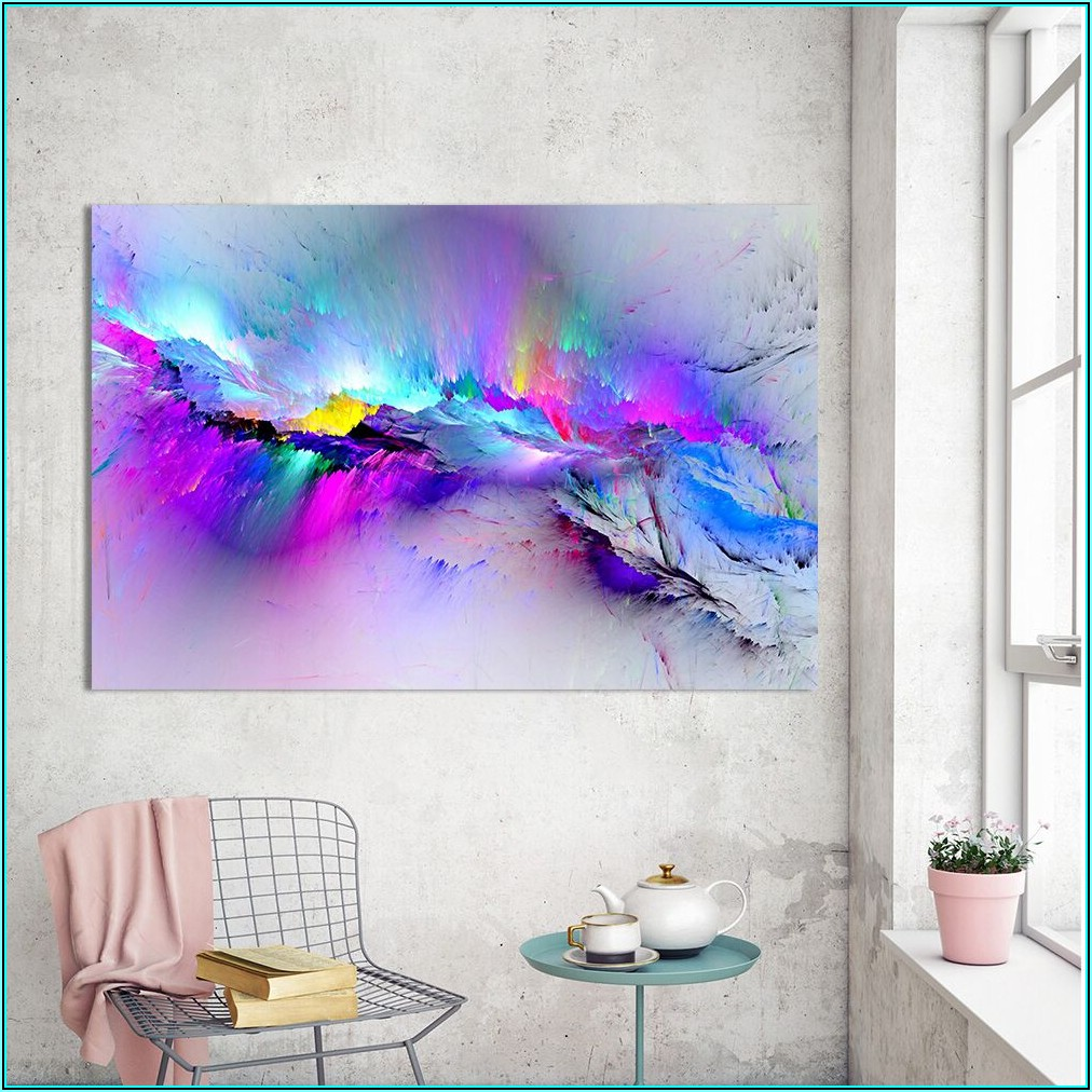 Abstrakte Bilder Wohnzimmer