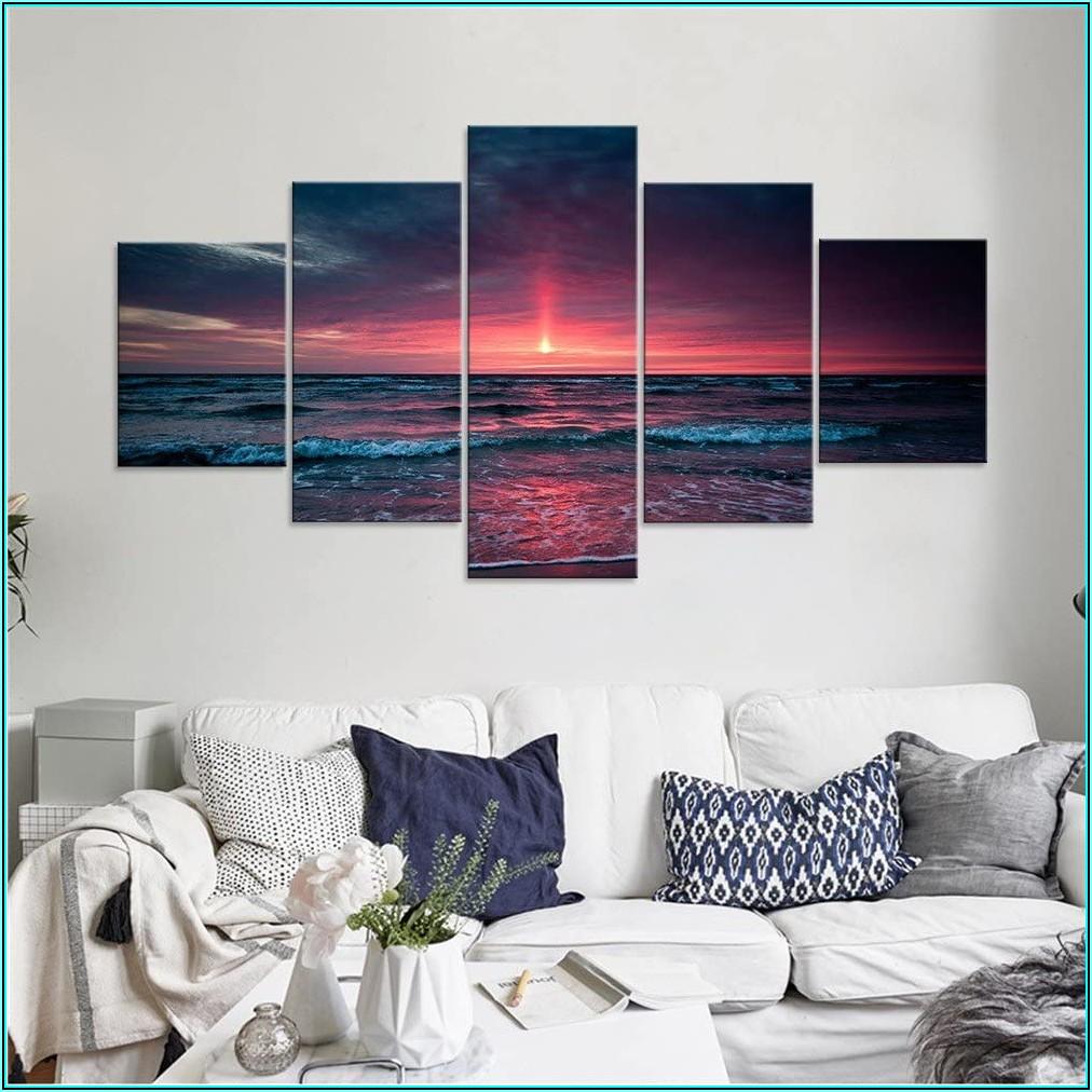 Amazon Moderne Bilder Wohnzimmer