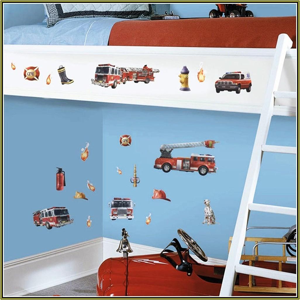 Auto Wandtattoo Kinderzimmer