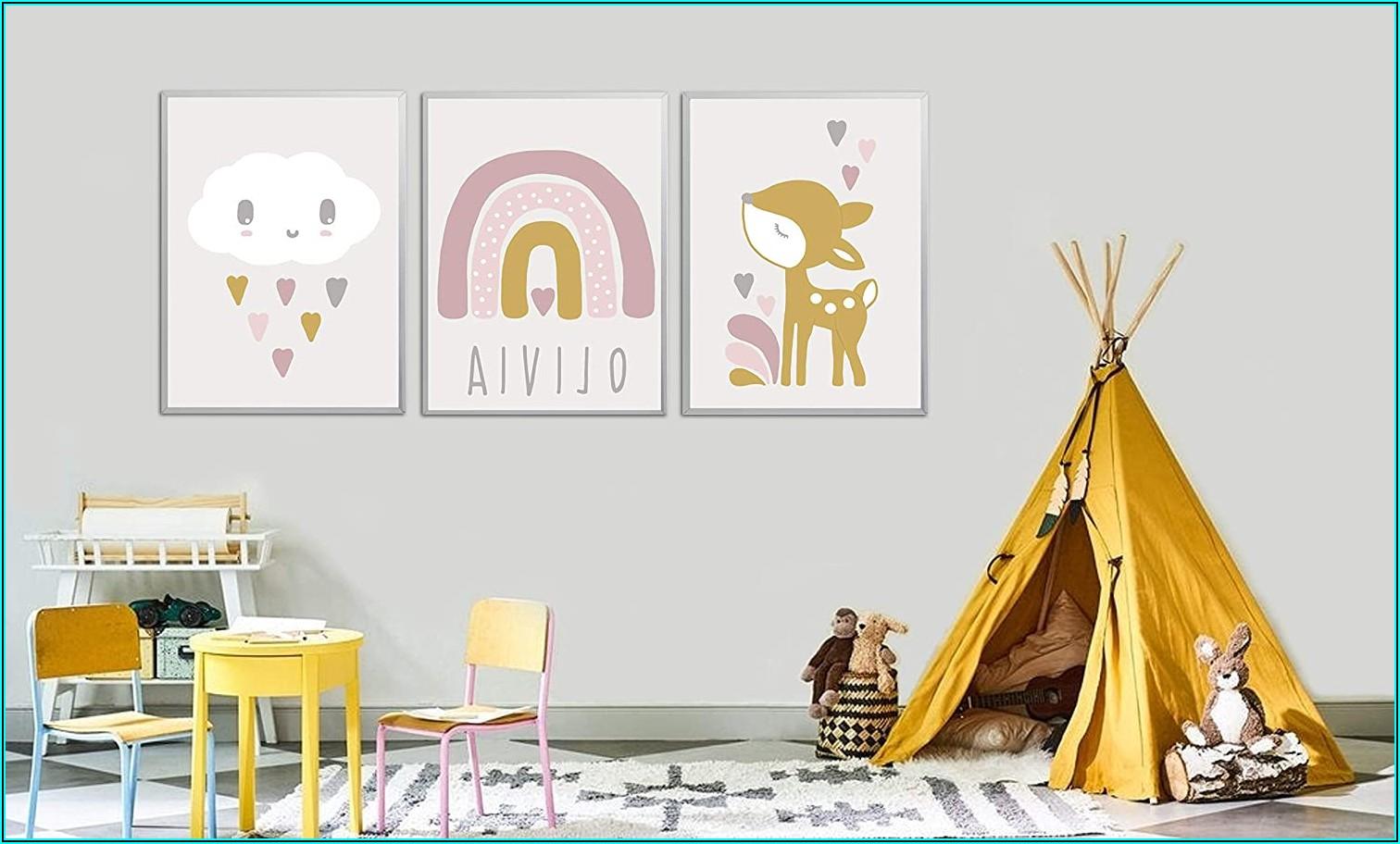 Babyzimmer Deko Senfgelb