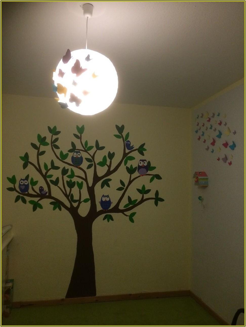 Baum An Wand Malen Kinderzimmer